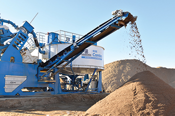 The Combo will be in the limelight at the Mining Show  in Dubai  this year.