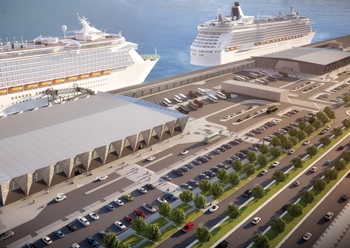 The Dubai Cruise Terminal will be a hub for international cruise ships in the region.
