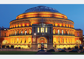 Royal Albert Hall in London.