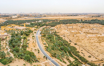 Diriyah ...  set for a major redevelopment programme.