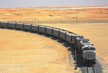 Etihad Rail ... Stage 2 will provide both freight and passenger services.
