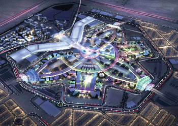 Expo 2020 Dubai ... an advanced transport system will serve 25 million visitors.