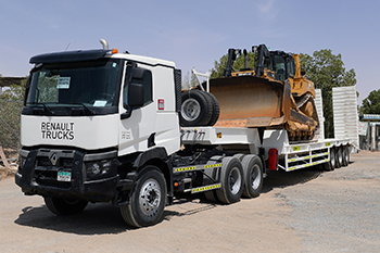 Barai has taken delivery of a Renault K460 T6x4 truck.