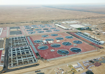 The Jebel Ali sewage treatment plant ...  built by an L&T joint venture.