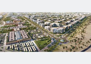 KEC ... a new 52-million-sq-m integrated economic city in the Barka area.