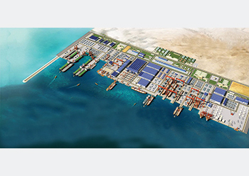Jacobs will deliver engineering services for Packages 4, 5 and 6 of the maritime complex.
