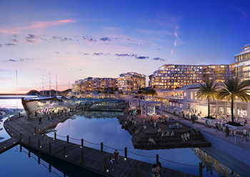 Mina Al Sultan Qaboos Waterfront will be developed into an integrated tourist port and lifestyle destination.