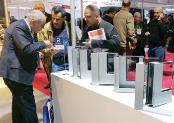 Reynaers at Project Iraq 2018 ... most popular products showcased.