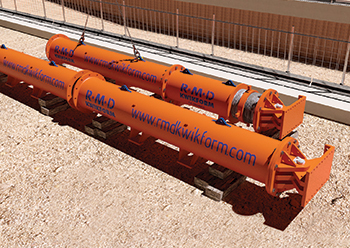 Tubeshor is suitable for deep excavations and basement propping with in-built safety features.