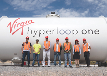 The longest test and certification hyperloop track will be built at KAEC.