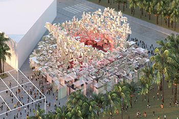The Canada pavilion for Expo 2020 ... a meeting place for Canadian business and innovators.