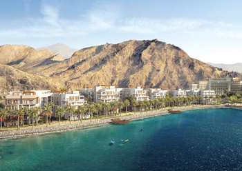 The Address Residences Fujairah Resort and Spa ... a combined five-star hotel, villas and apartments offering.