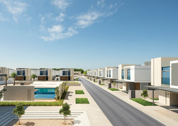 Al Sarfa project by Wasl Properties ... 44 villas handed over this year.