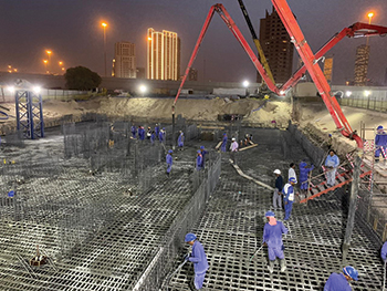 Environmental conditions can affect the behaviour of a concrete mixture once it is on-site.