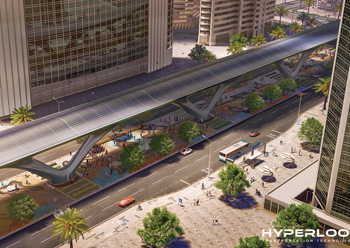 The proposed HyperloopTT ... first phase of the project involves a 10-km stretch.