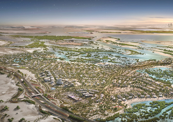 Jubail Island will feature six investment zone villages.