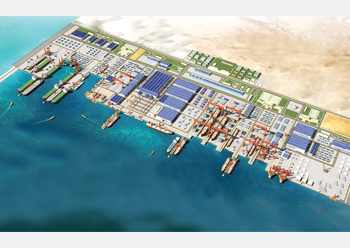 The King Salman International Complex for Maritime Industries and Services at Ras Al Khair in Saudi Arabia ... key contracts awarded in July.