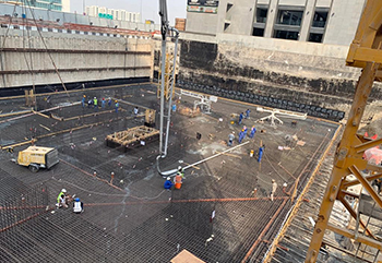 Admixtures play a key role in effective pumping of concrete.