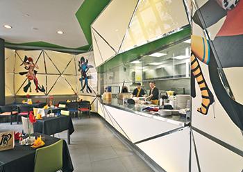 Halton Foodservice is gaining ground in quick-service chain restaurants.