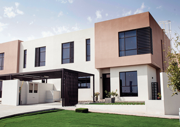 Nasma Residences ... the first homes were delivered in May.