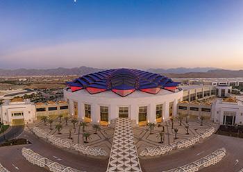 Madinat Al Irfan theatre ... world class.