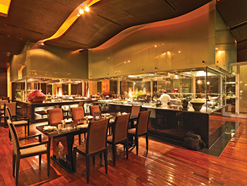 Halton has delivered thousands of projects in the region including the Thai Restaurant at Park Hyatt in Dubai.