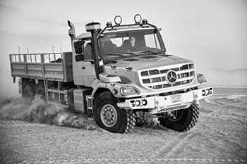 Zetros ... developed for demanding transport tasks.
