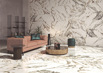 Museum's Macchia Vecchia Collection caters to the trend towards large-format slabs with deep veining.