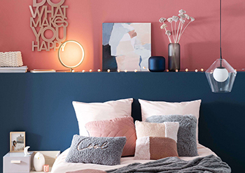 Urban Mood ... a fresh mix of graphic shapes and modern décor.
