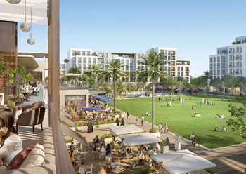 The Valley will feature expertly designed townhouses in breathtaking landscape.