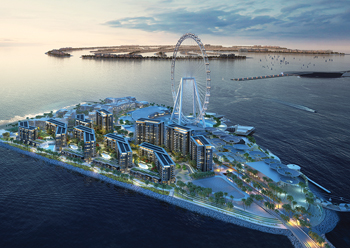 Bluewaters Island ... home to Ain Dubai, the world's largest observation wheel.