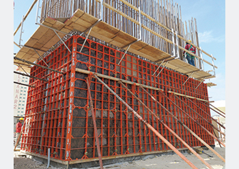 Paschal's Modular formwork continues to be a popular choice of contractors.
