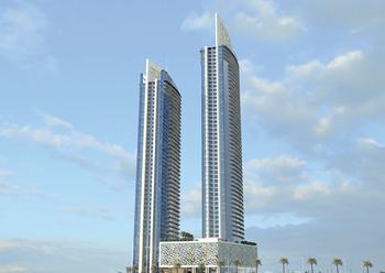 Golden Gate ... Bahrain's tallest residential towers.