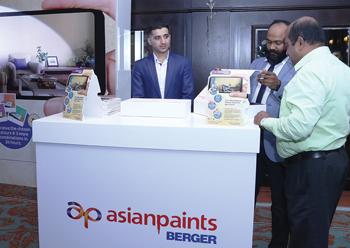 Asian Paints launched its Royale Smart Clean emulsion paint in Bahrain.