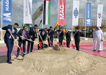 Officials break ground for MAG City.