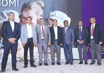 Asian Paints Berger's management team at the launch event.
