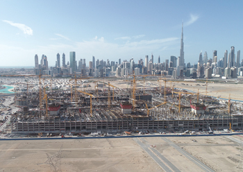 Dubai dominates the 2019 list with total project values amounting to $611.2 billion.