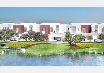 A number of villa developments are in progress at Al Mouj Muscat.