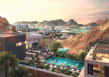 Madinat Sultan Qaboos ... an ambitious redevelopment project.