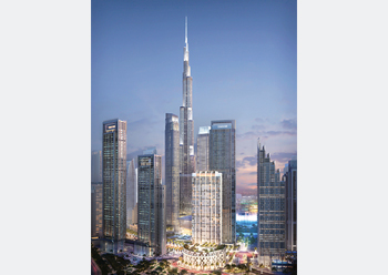 Burj Crown ... designed by LWK Partners.