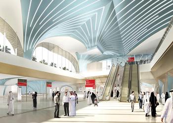 Doha Metro ... dual green building accolades.