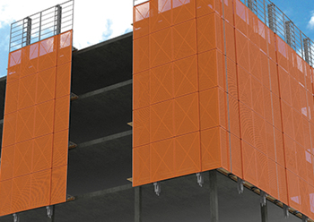 RMD Kwikform's  Ascent 200 ... movable perimeter protection for buildings.