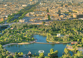 Green Riyadh ... aiming to increase the green cover from the current 1.51 to 9.1 per cent.