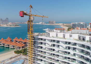 Mina's 178 units on the east crescent of the iconic Palm Jumeirah will also be completed this year.