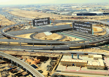 RTA has opened the last two phases of the roads leading to the Expo site.