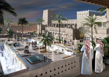 Diriyah is being developed as Riyadh's new global cultural and lifestyle destination.