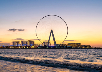 Dubai Eye on  Meraas' Dh8-billion Bluewaters Island ... expected to open this year.