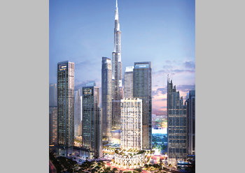 Burj Crown, a 44-storey luxury residential tower launched this year.