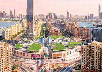 Nakheel Mall ... recently opened on Palm Jumeirah.
