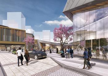 Ajdan Walk ... a 15,120-sq-m 'retail village' development.